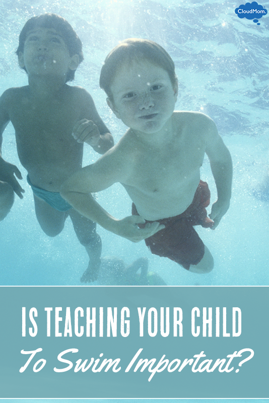 Is Teaching Your Child To Swim Important?