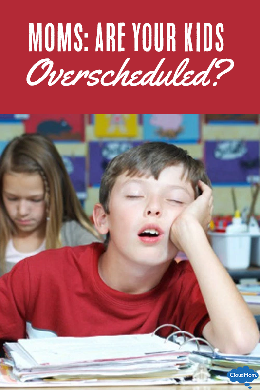 Moms: Are Your Kids Overscheduled?