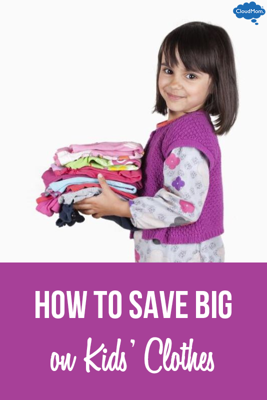 How To Save BIG Money on Kids' Clothes