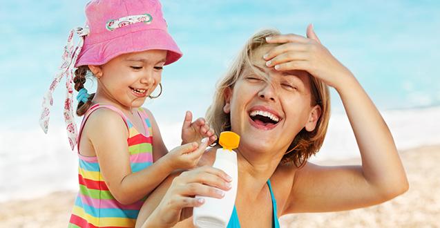 Top 4 Sunscreens for Kids & Mom