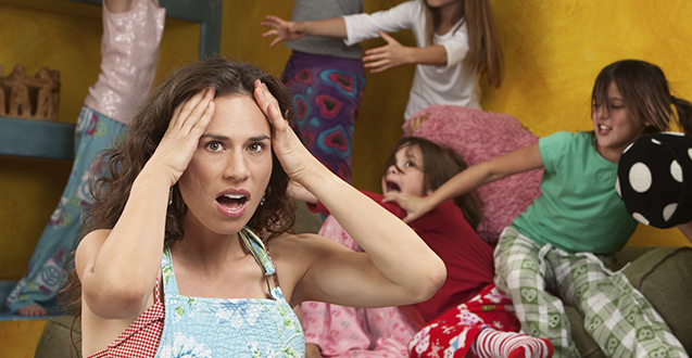 Coping With Messy Guests