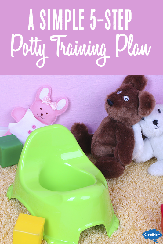 """How to Potty Train"" Part 3: My 5-Step Potty-Training Plan"