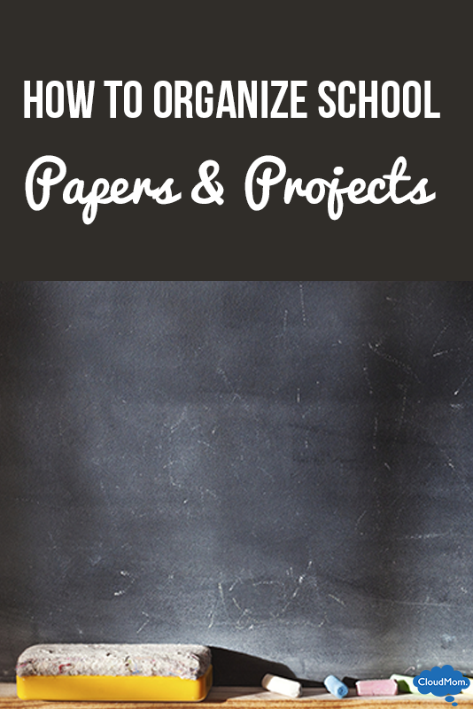 How to Organize Kids' School Papers and Projects
