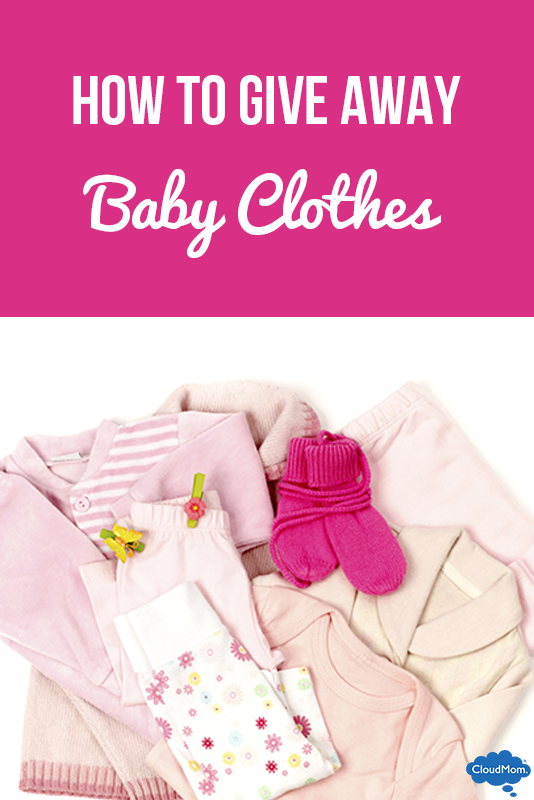 Struggling to Give Away Baby Clothes