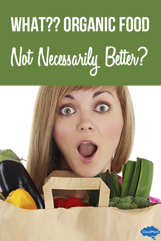 WHAT?? Organic Food Not Necessarily Better?