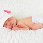 newborn sleeping soundly