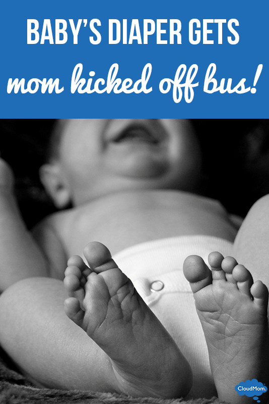 Baby's Smelly Diaper Gets Mom Kicked Off Bus?!