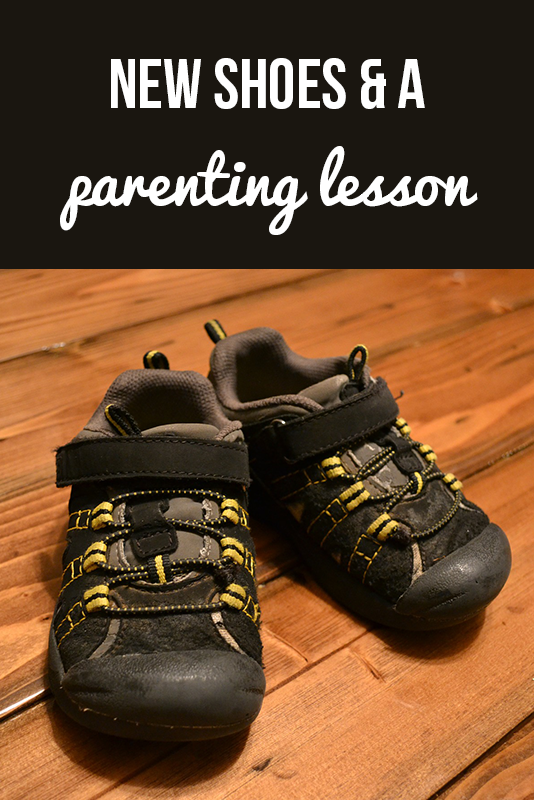 New Shoes and an Unexpected Parenting Lesson