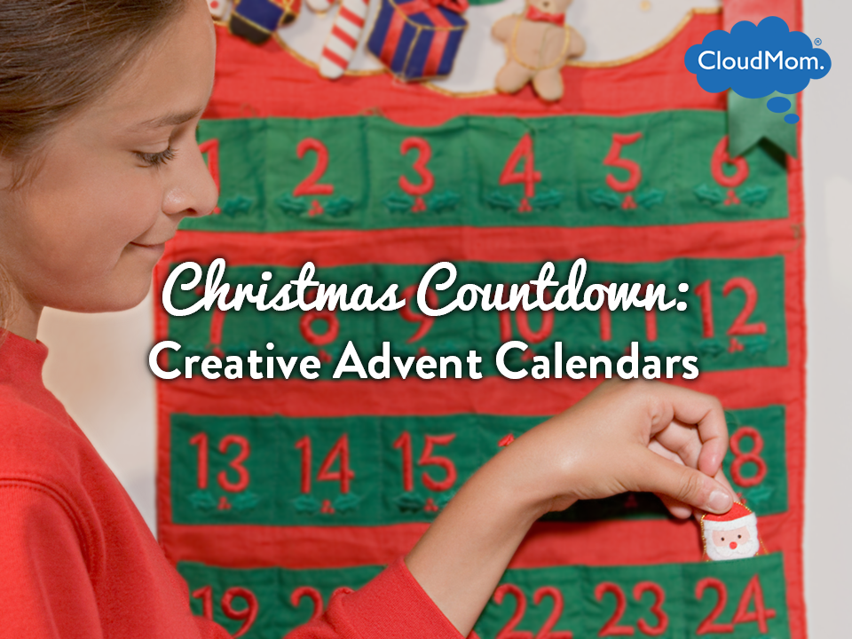 Christmas Countdown: Creative Advent Calendars | CloudMom