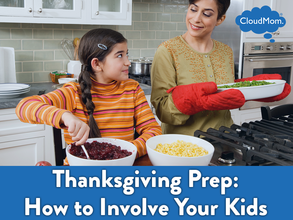 Thanksgiving Prep How to Involve Your Kids