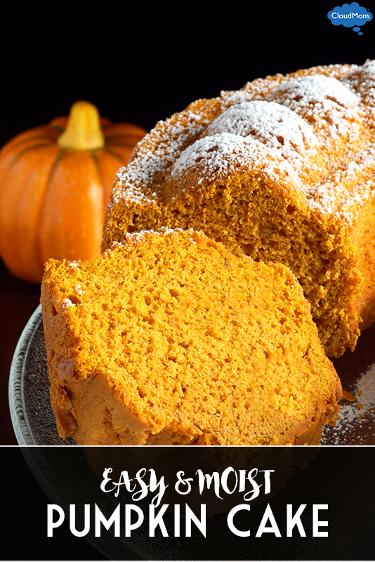 Fake Supermom Recipe #3: Pumpkin Cake