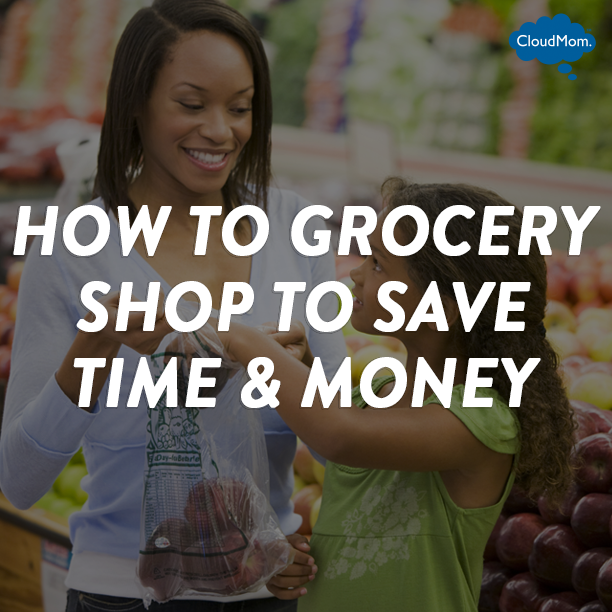 How to Grocery Shop to Save Time and Money | CloudMom