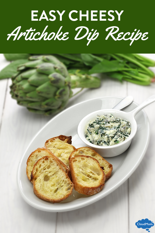 Easy Cheesy Artichoke Dip Recipe