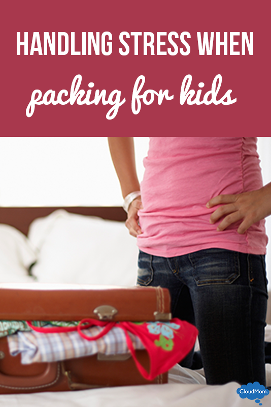 Handling Stress When Packing for Kids