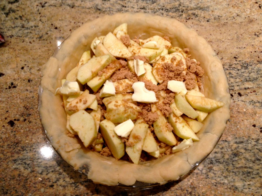 Photo of Apple Tart Uncooked