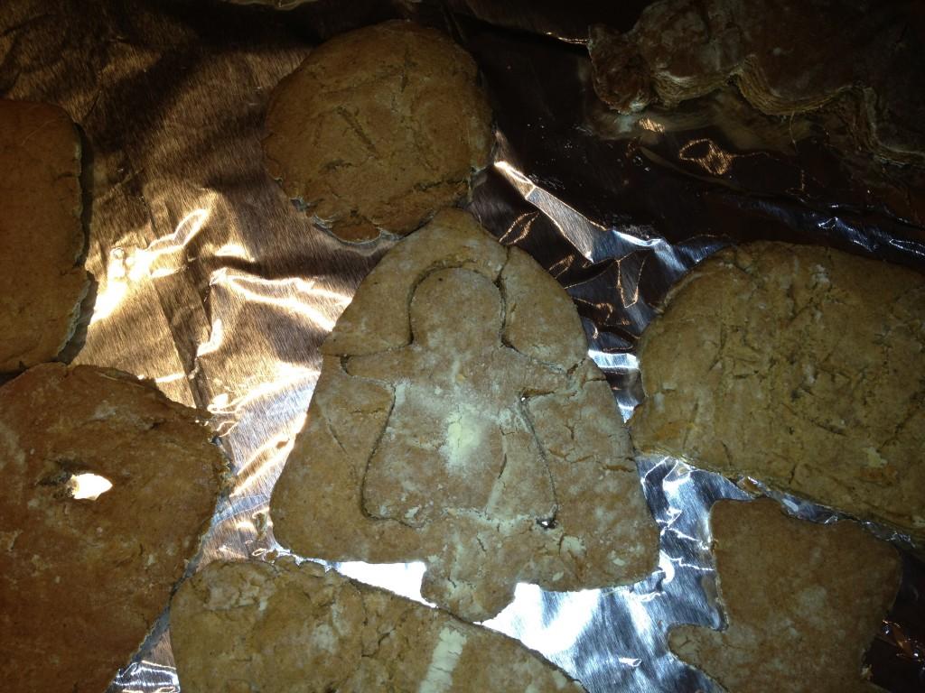 Gingerbread Cookies - Angel inside Bell