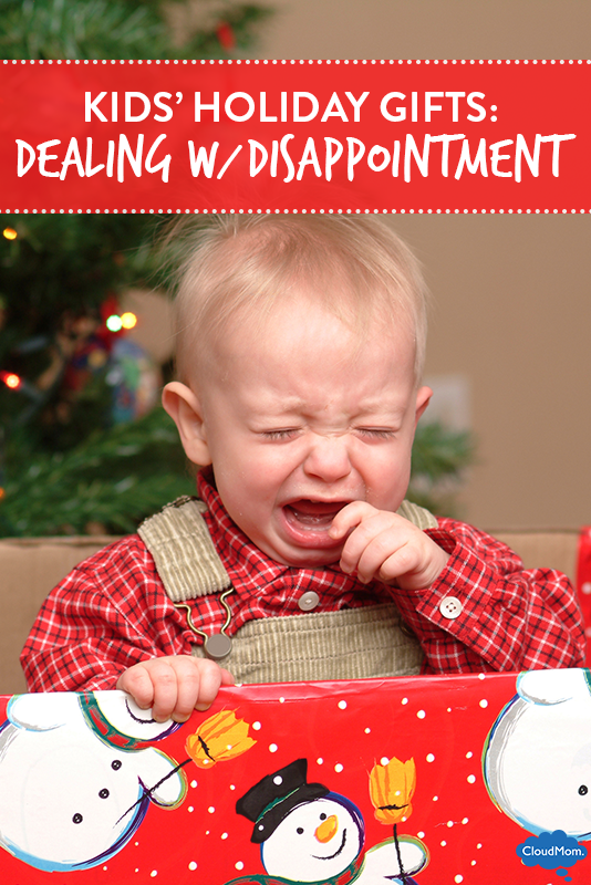 Kids' Holiday Gifts: Dealing With Disappointment
