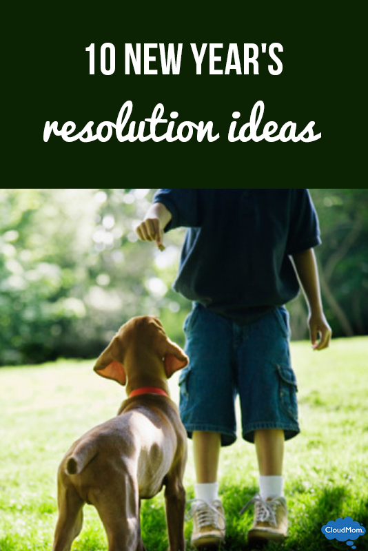 Ten New Year's Resolution Ideas