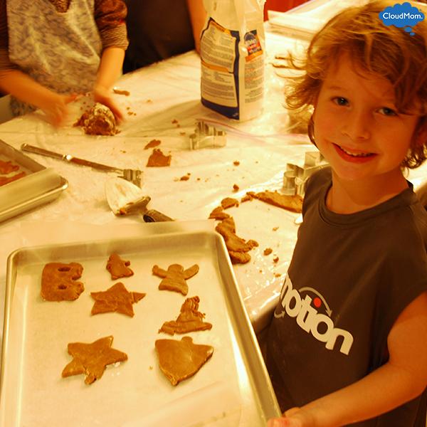 making-gingerbread-cookies