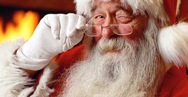 Keeping the Santa Myth Alive for My Little Kids