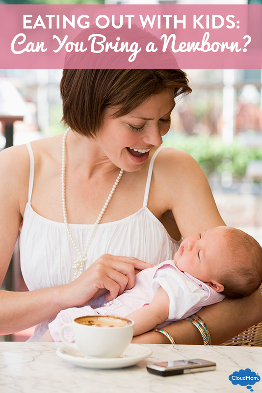 Eating Out With Kids: Can You Bring a Newborn?