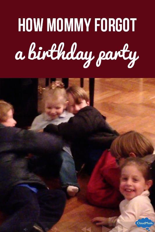 How Mommy Forgot a Birthday Party