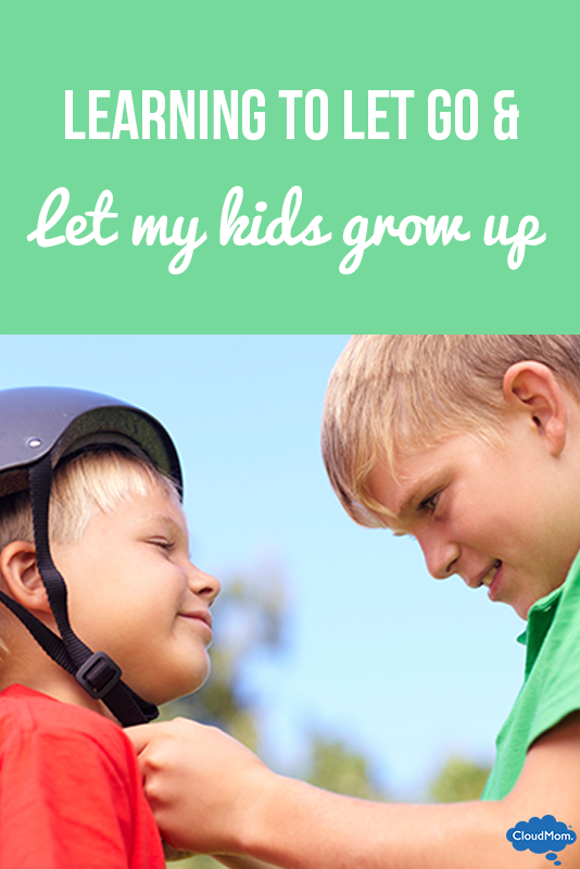 Learning to Let Go and Let My Kids Grow Up