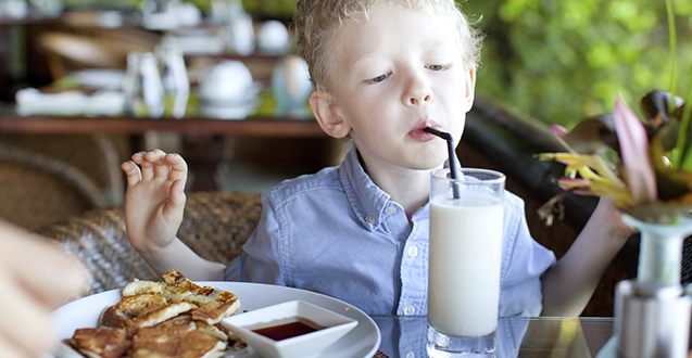 Eating Out With Kids: My Top 5 Tips