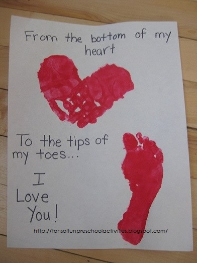 Valentine Day Crafts Ideas For Preschoolers Crafting