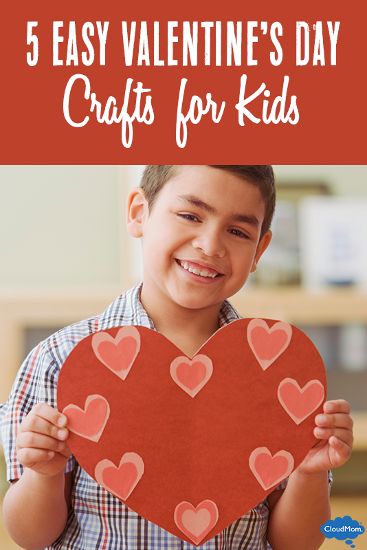 5 Easy Valentine S Day Crafts For Kids Cloudmom