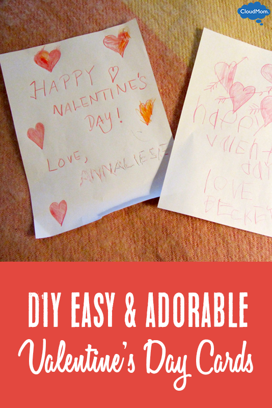 DIY Easy Valentine's Day Cards