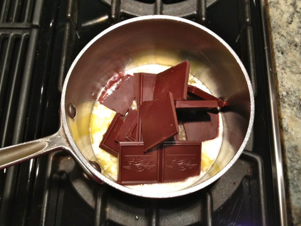 Chocolate with butter