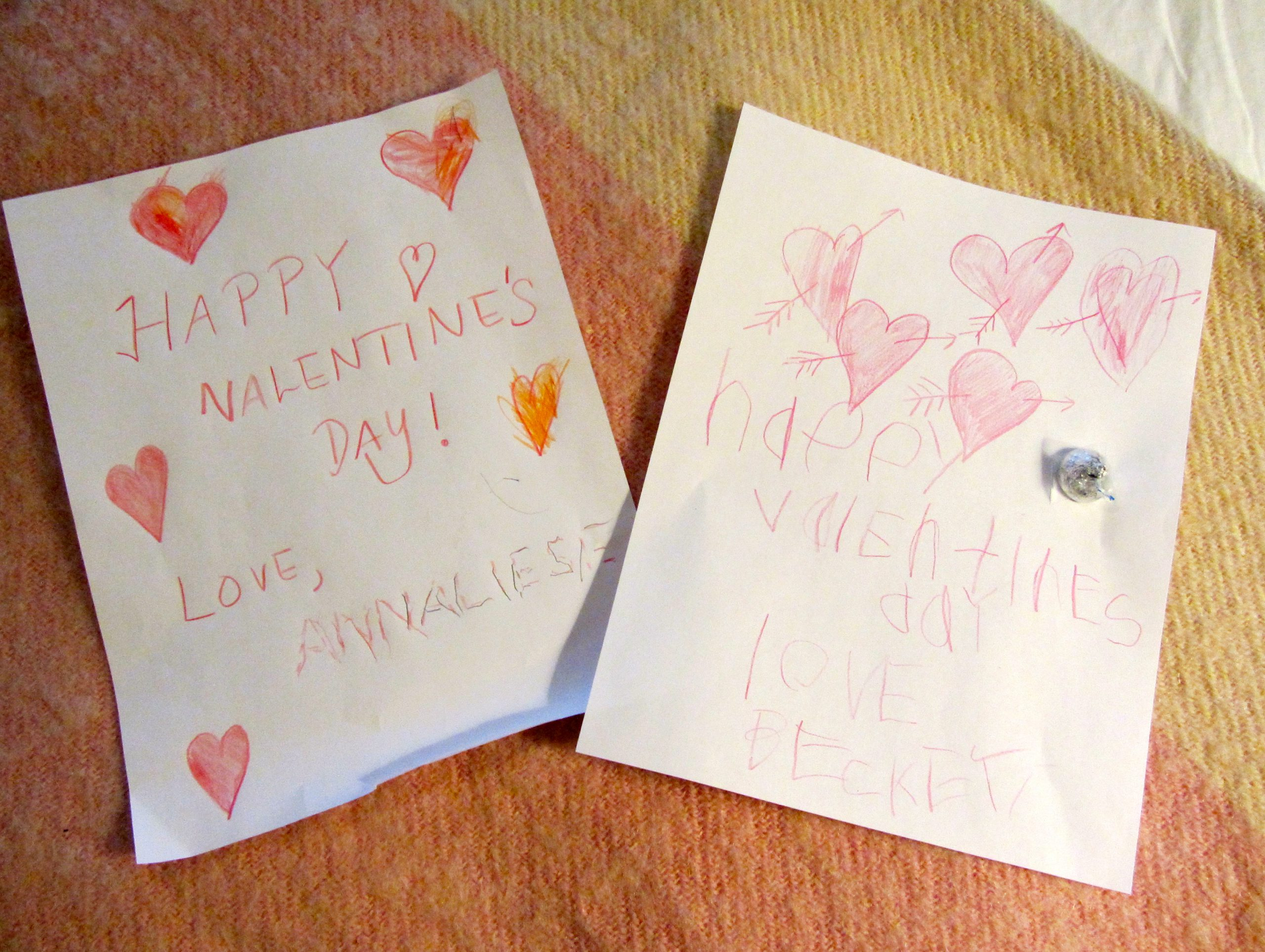 DIY Easy Valentine's Day Cards