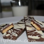 Recipe: NiftyMom marbled chocolate graham cookies