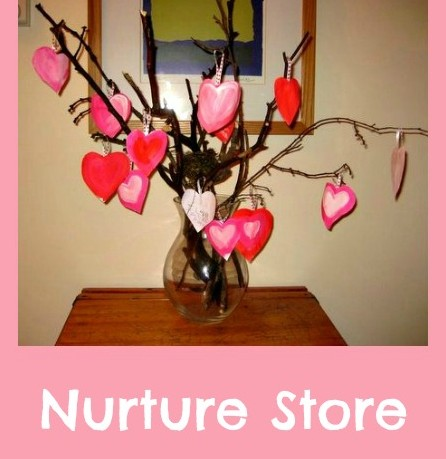 How to make a Valentine's Day gratitude tree.