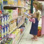 grocery shopping with kids