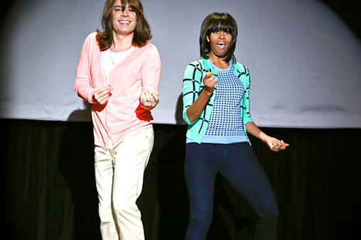 Michelle Obama Dancing: For Moms Everywhere
