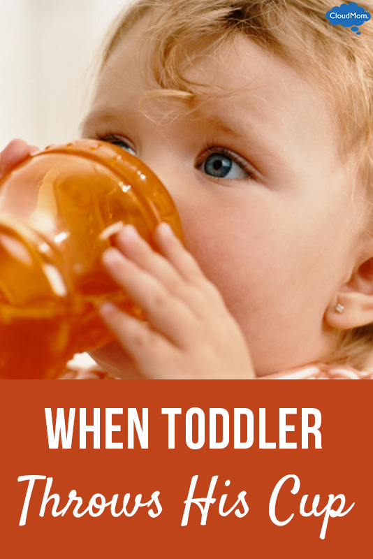 When Toddler Throws His Cup