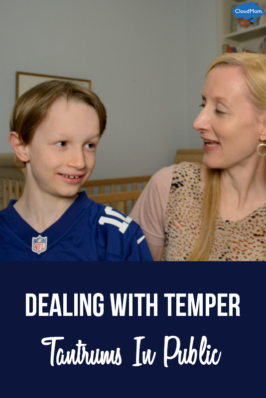 Dealing with Temper Tantrums In Public
