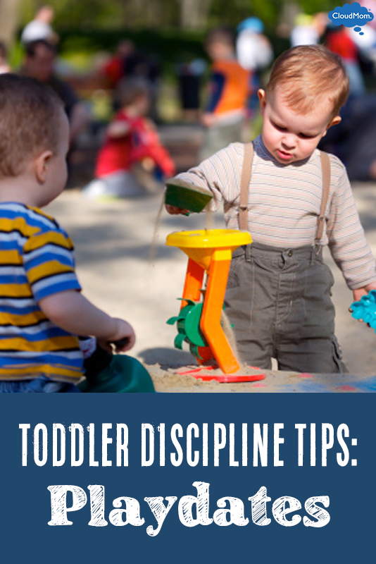 Toddler Discipline Tips: Playdates