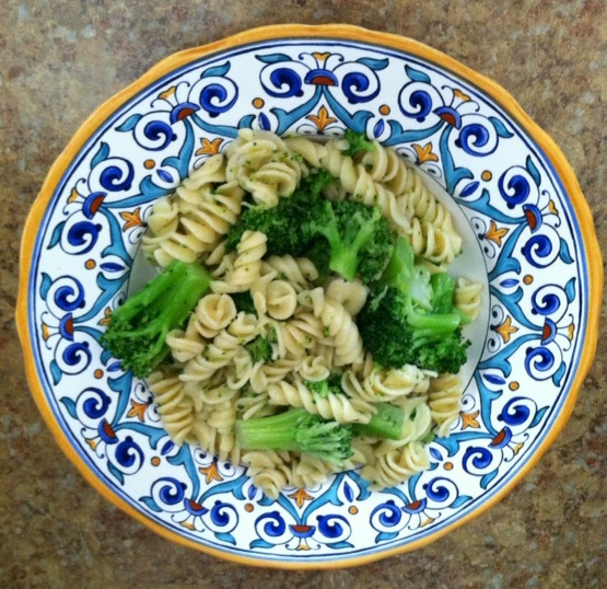 One Pot Cooking - Pasta with Broccoli Recipe