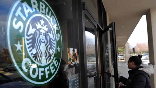 Starbucks diaper change
