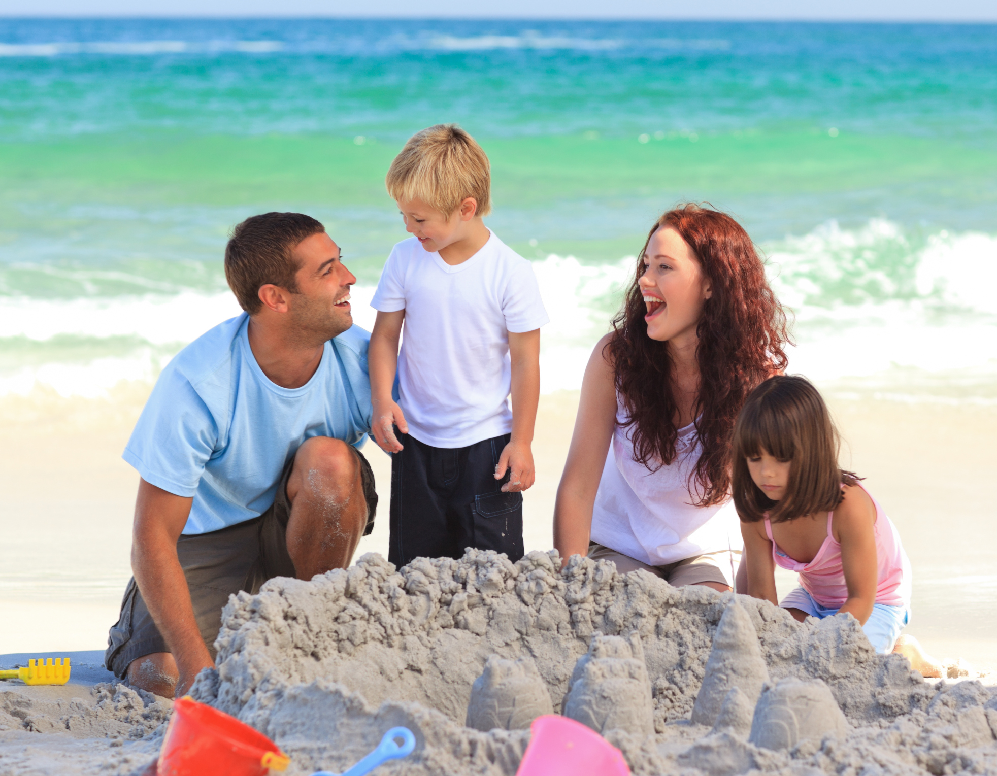 How to Survive the Beach with Kids