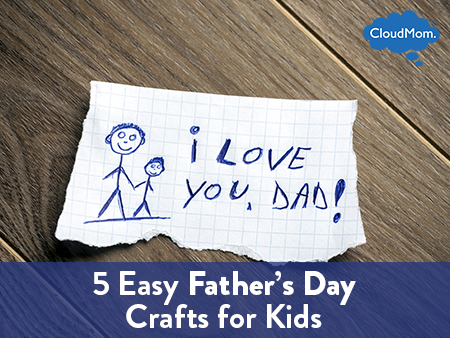 Fathers Day is around the corner. These cool Fathers Day crafts kids can make are just the thing that dad will treasure for years to come. Let your dad know how special he is by making him your one of a kind Fathers Day gift. A small bookmark-shaped strip of poster board with the childs' photo.