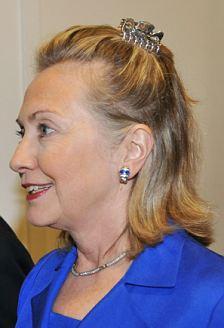 Hillary Clinton hair