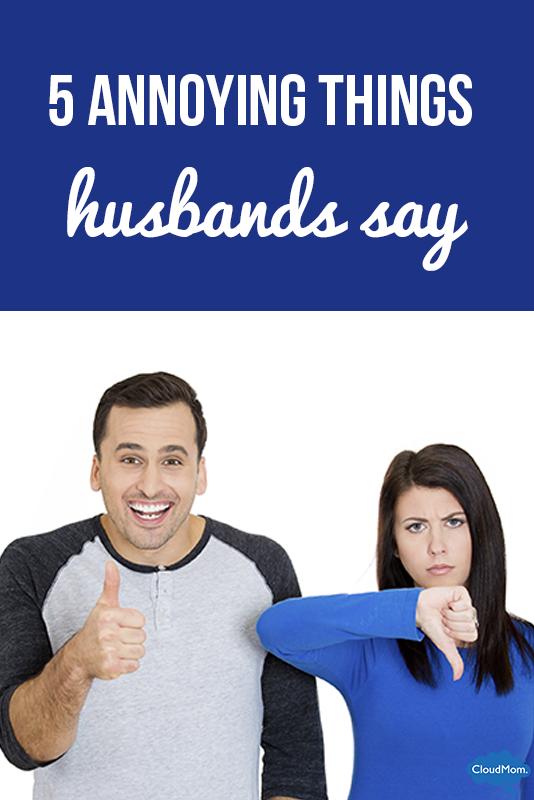 annoying husband habits