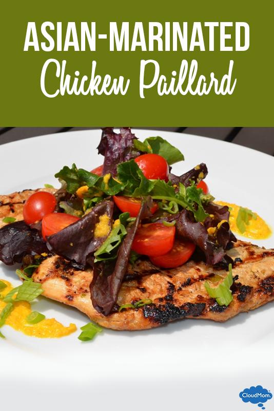 Asian-Marinated Chicken Paillard