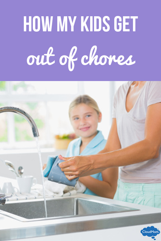 How My Kids Get Out of Chores
