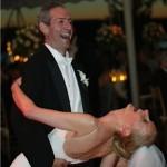 Marc and Melissa wedding dip