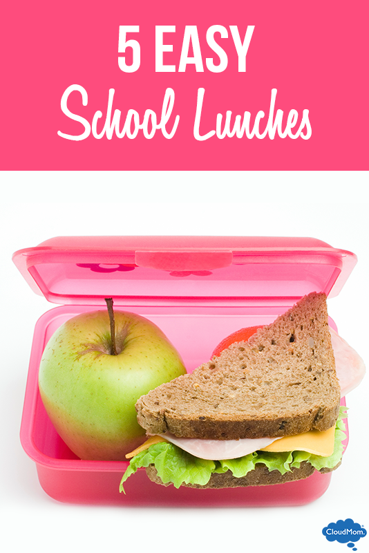 5 Easy School Lunches
